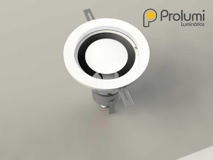 Spot PL 609 - Luminária de Embutir
