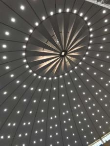 Prolumi Luminárias - forro do grande templo - Assembleia de Deus Ribeirão Preto
